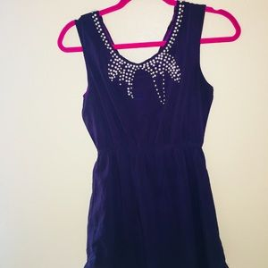 ASOS PURPLE PEARL DRESS